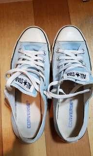 Converse chuck taylor blue shoes