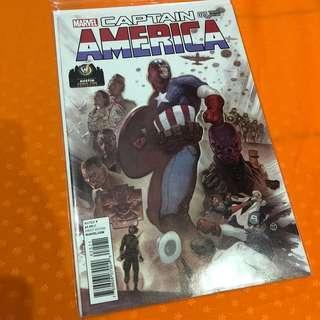 Marvel Comics Captain America #25 Austin Comic Con Wizard Variant Exclusive Rare