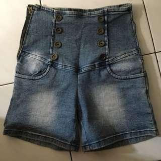Button Hotpants