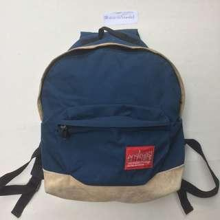 manhattan portage backpack suede bottom