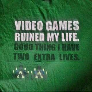 Gamers shirt game