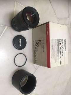 Canon FE 100mm F2.8 IS Usm Marco lens