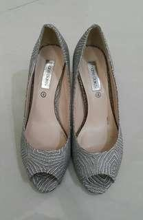 Marie Claire Silver Heels