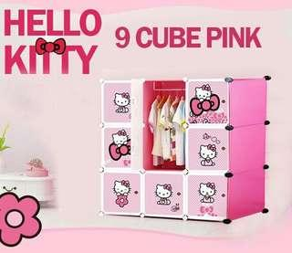 HELLO KITTY 9C DIY WARDROBE