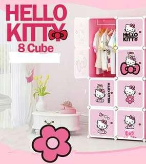 HELLO KITTY 8C DIY WARDROBE