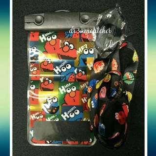Sesame Street lanyard and waterproof pouch