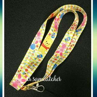 Winnie the Pooh and friends lanyard