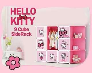 HELLO KITTY 9C DIY WARDROBE W CORNER RACK