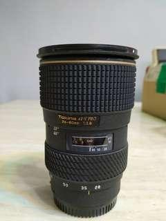 Tokina AT-X PRO 28-80MM F2.8 A-MOUNT (SONY)