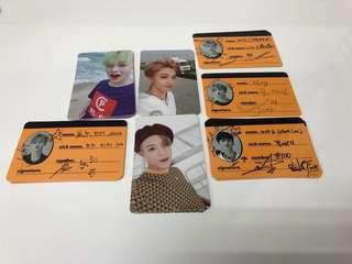 [WTS] NCT Dream - We Go Up Photocard & Crew Card