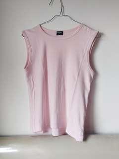 Uniqlo Sleeveless Baby Pink Top (Tank Top Uniqlo) #OktoSale