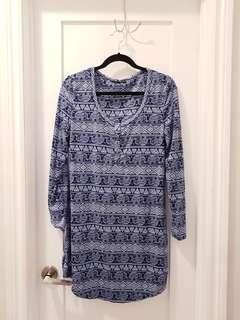 Elephant Pajama Dress (M)