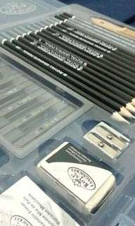Royal Drawing Pencil,  charcoal set