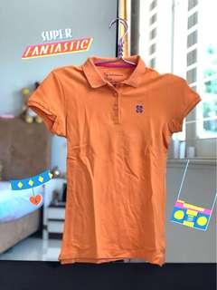 #MauiphoneX giordano orange polo