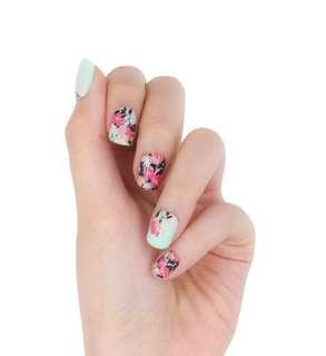 The Oriental pre glued nails