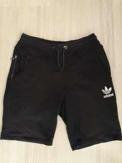 Preloved Adidas Black Shorts Size M