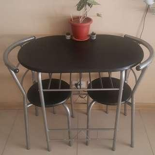 Dining Table Set for 2
