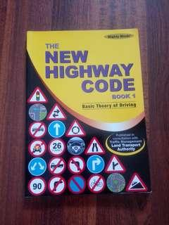 The new highway code book1