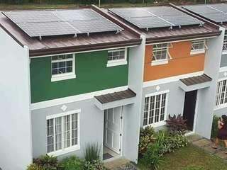 House and lot with solar