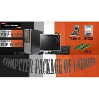 Computer Package of i-Series.