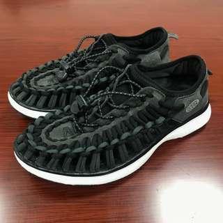 23.5 cm 二手近全新 KEEN UNEEK 黑 Black & Charcoal Sports US 6.5 37