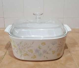 pyrex corningware pastel bouquet casserole bowl 5l