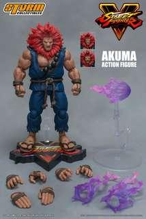 Akuma Street Fighter V 5 SFV Storm Collectibles action figure