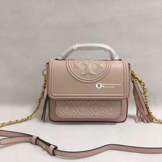 ON SALES💡Tory Burch Fleming Satchel - nude pink