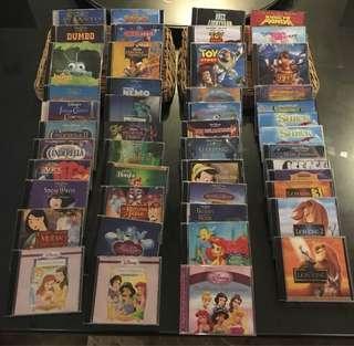 47 Orig Disney VCDs
