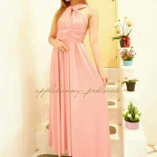 MAXI LONG DRESS MULTIWAY INFINITY CONVERTIBLE DRESS