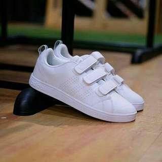 Adidas Neo Advantage Velcro Original White