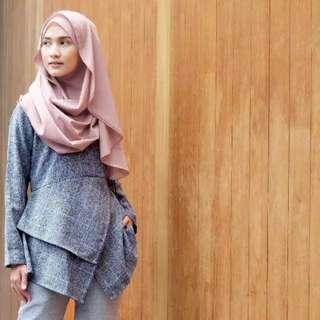 Vanilla Hijab Mille Blouse