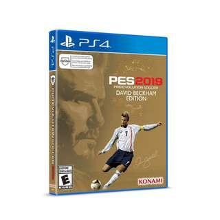 PS4 PES 19 Beckham Edition