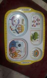 Authentic Pororo Kids Plate on Sale Repriced