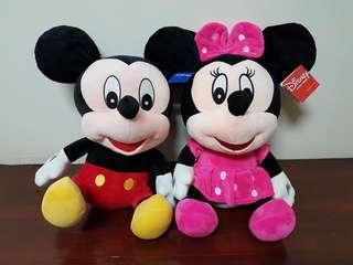 Mickey & Minnie Mouse Soft Toys / Plush Toys