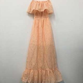 OffShoulder Maxi Dress