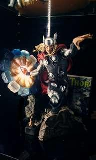 Sideshow Modern Age Thor with custom spinning hammer