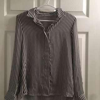 Light striped H&M blouse
