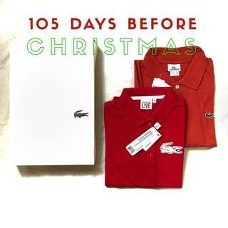 Lacoste Polo shirts for his and hers