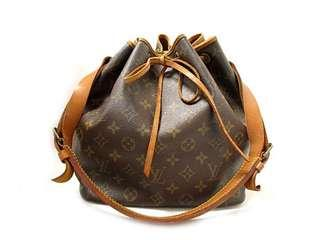 LV Louis Vuitton Petit Noe Shoulder Bag