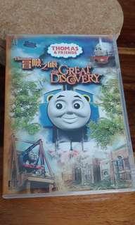 Thomas 冒險之旅 DVD 英語粵語