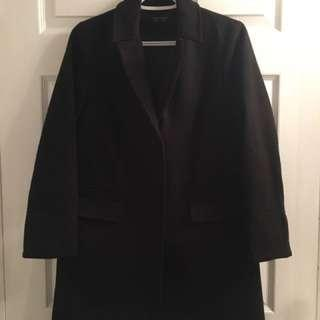 Topshop black coat