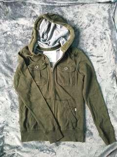 AÈROPOSTALE Green Jacket for Men (Size XS)