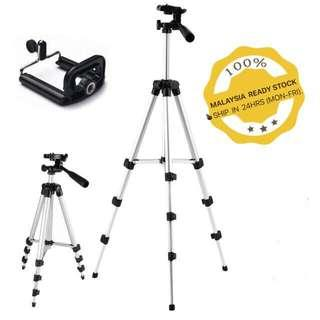 Tripod 3110 Extendable Universal Portable Selfie Stand with dust Bag & Phone Holder