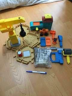 美國購入工程師玩具組九成新