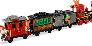 Lego 7597 toy story Western Train Chase