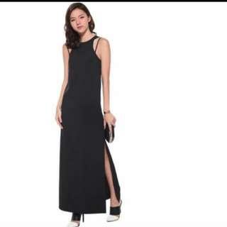 Love Bonito Danique Maxi Dress Black