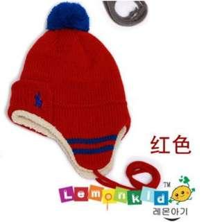 winter beanie hat for boy or girl 6mths baby up to 5yrs old kid
