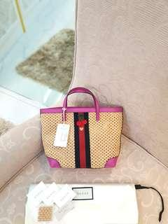 BRAND NEW Kids Straw Leather Cherry Mini Handbag ❤BIG SALE P18k ONLY❤ With dustbag cards and leather swatch  Swipe for detailed pics