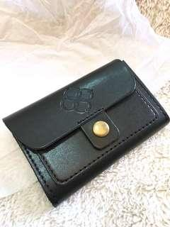 Men's Leather Coin and Card Holder